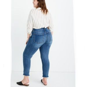 {Madewell} Stovepipe Jeans in Chancery Wash NWT